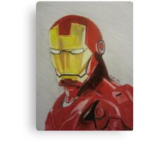 Super Hero Illustration 1 Canvas Print