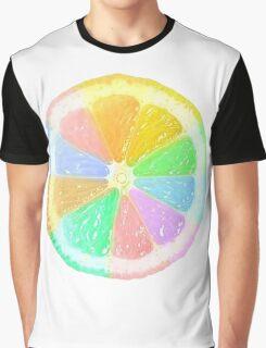 Colourful Orange Graphic T-Shirt
