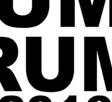 Dump Trump 2016 Election Sticker