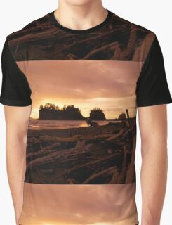 Drifting into Sunset Graphic T-Shirt