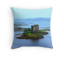 Castle Stalker Appin Argyll Scotland Throw Pillow