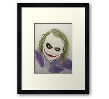 Super Villain Illustration 1 Framed Print