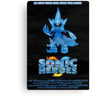 Sonic Heroes Canvas Print