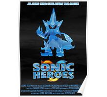 Sonic Heroes Poster
