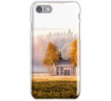 Sleepless sunrise - barn iPhone Case/Skin