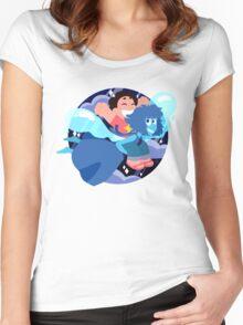 Beach Summer Fun Buddies Women's Fitted Scoop T-Shirt