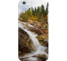 Alluvial Falls in Rocky Mountain National Park iPhone Case/Skin