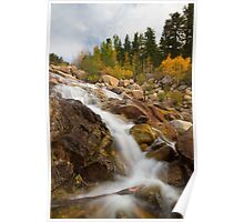 Alluvial Falls in Rocky Mountain National Park Poster