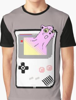 Merging Worlds ( Jigglypuff ) - Pokemon / Gameboy Graphic T-Shirt