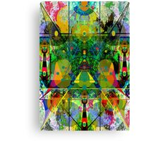 THE GREEN MYST AND THE PILARS OF CREATION 23 Canvas Print