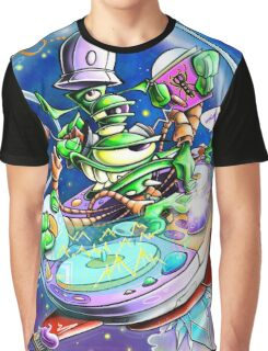 Yedi Fresh ( JELLYFISH LAZER FACE ) Graphic T-Shirt