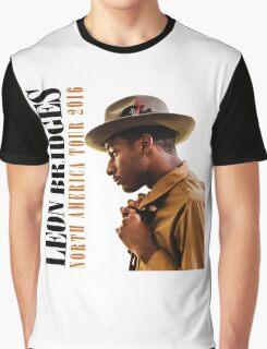 hits LEON BRIDGES COMING HOME TOUR LOGO 2016 estr Graphic T-Shirt