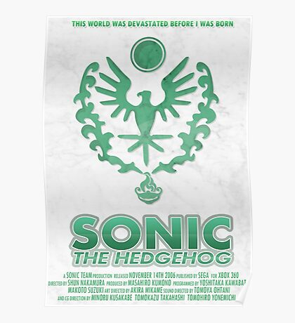 Sonic The Hedgehog [2006] Poster
