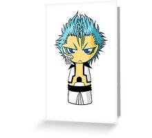 Grimmjow Chibi Greeting Card