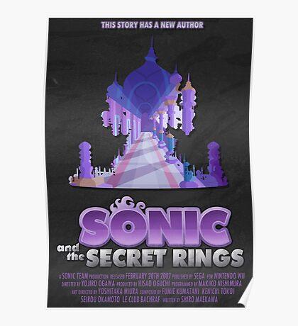 Sonic & The Secret Rings Poster