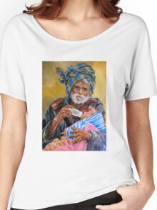 Grandfather and his grandchild Women's Relaxed Fit T-Shirt