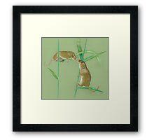 Field Mice Framed Print