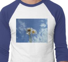 Three Mini Daisies Men's Baseball ¾ T-Shirt
