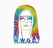 WHAT WOULD GLORIA DO? (Tie Dye Edition) Women's Fitted Scoop T-Shirt