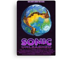 Sonic Unleashed Canvas Print