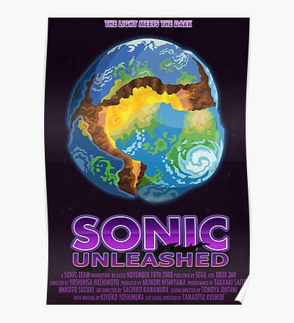 Sonic Unleashed Poster