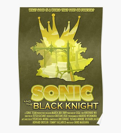 Sonic & The Black Knight Poster
