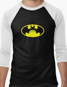 Totoro-Black knight Men's Baseball ¾ T-Shirt