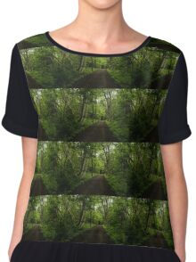 Summer Forest Tranquility - Beautiful Charlevoix, Quebec, Canada Chiffon Top