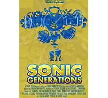 Sonic Generations Photographic Print