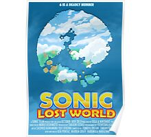 Sonic Lost World Poster