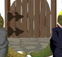 Make America Cretaceous Again Sticker