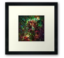 When The Stars Are Right - The Heart and Soul Nebulae in Cassiopeia Framed Print