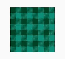 PNW Evergreen Buffalo Check Plaid Men's Baseball ¾ T-Shirt