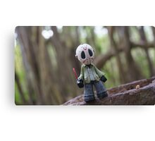 Jason Voorhees Vinyl Canvas Print