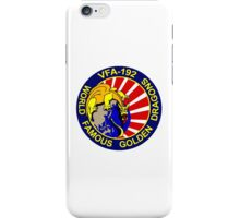 VFA-192 Golden Dragons iPhone Case/Skin