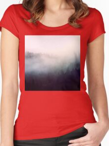 beautiful fog Women's Fitted Scoop T-Shirt