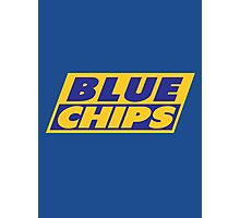 BLUE CHIPS Photographic Print