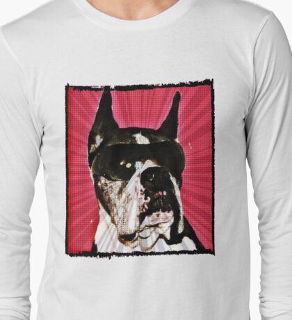 Boxer Dog Long Sleeve T-Shirt