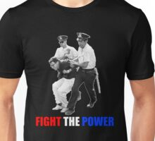 FIGHT THE POWER Bernie Sanders Arrested Unisex T-Shirt