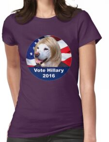 Hillary for everything 2016 Womens Fitted T-Shirt