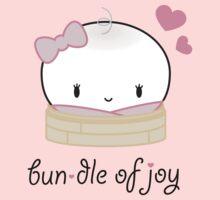 Bundle of Joy - Egg Custard Bun Kids Tee