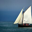 A Sailing Bark by cclaude