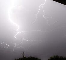 Lightning Over Grand Prairie by Kate Farkas
