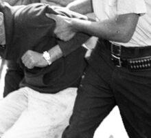 Bernie Arrested 1963 Sticker