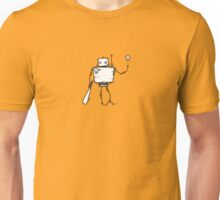 PAGEUP the robot - white BG Unisex T-Shirt