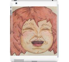 Hi Dee Ho ha ha ha iPad Case/Skin