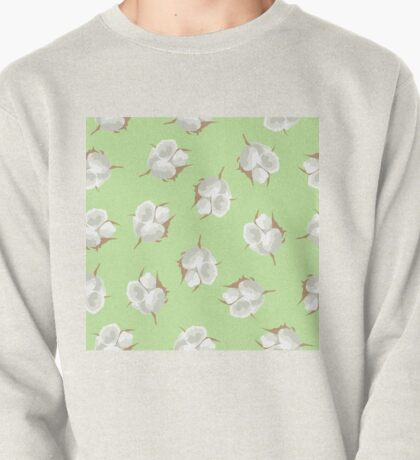 Cotton Blossom Toss in Key Lime Pullover