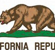 California flag Sticker