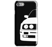 White e30 iPhone Case/Skin