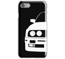 White e30 iPhone Case/Skin